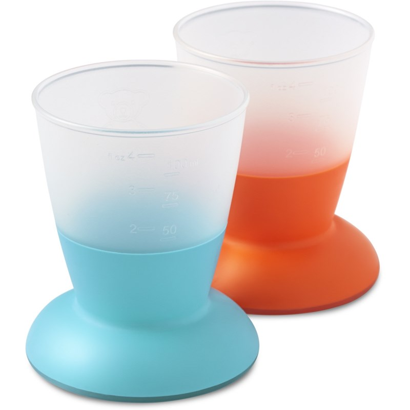Cup 2-Pack Orange/Turquoise thumbnail