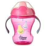 Tommee Tippee Tommee Tippee, Spillfri mugg, Easy Drink, 6m+, 230ml, Rosa