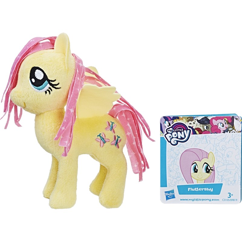 Läs mer om My Little PonyBasic Plush, 13 cm, Fluttershy