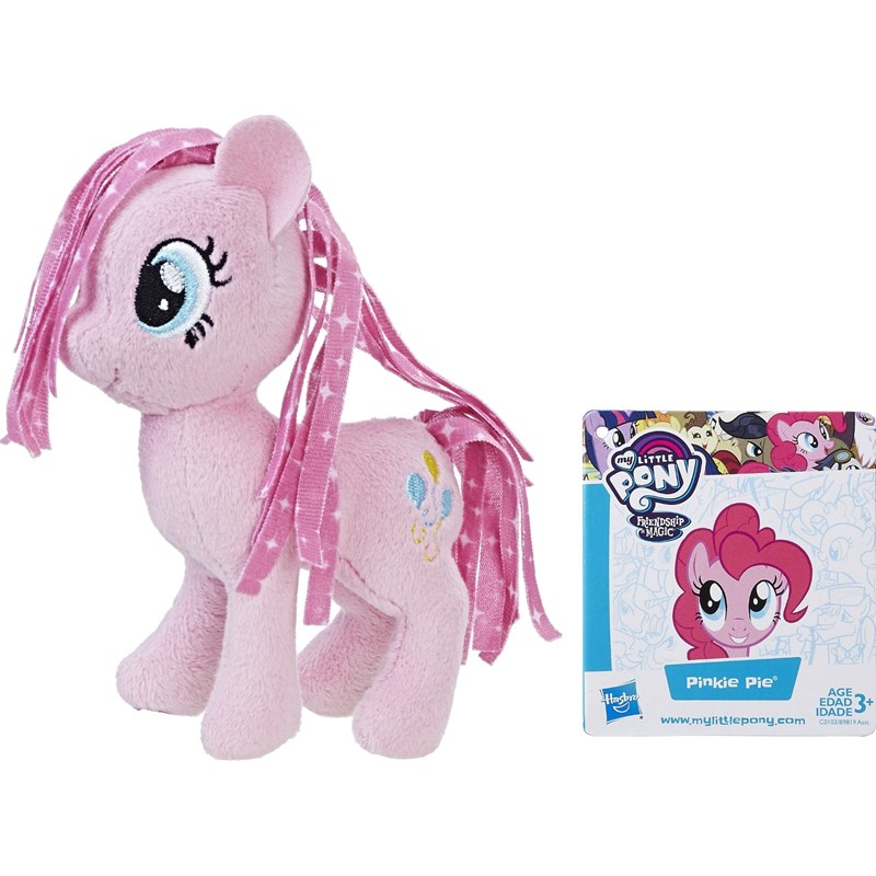 Läs mer om My Little PonyBasic Plush, 13 cm, Pinkie Pie