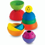 Fisher Price Aktivitetsleksak, Byggtorn, Stack & Roll Cups