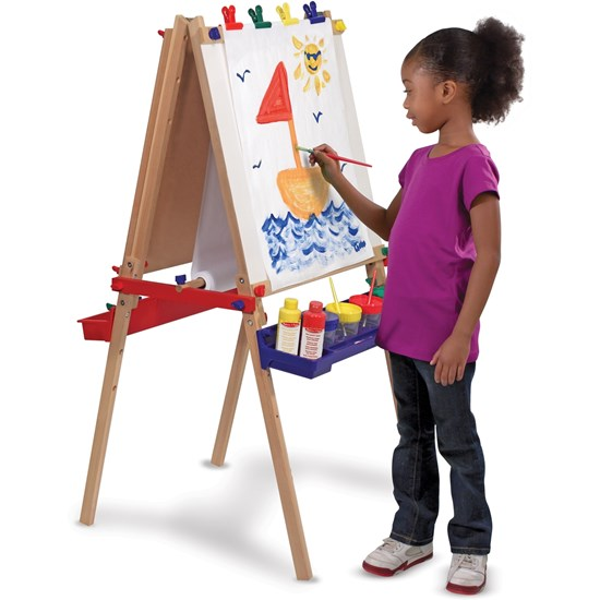 how to build melissa and doug easel