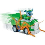 Paw Patrol Basic Vehicle With Pup, Rockys Recycling Truck