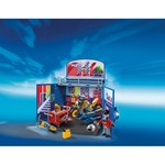 Playmobil 6157, City Action, Motorcykelverkstad