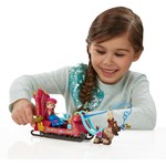 Disney Frozen Small Doll, Playset, Sleigh Ride