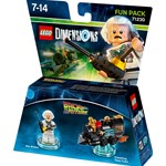 Lego 71230, Fun Pack, Doc Brown, Back to the future