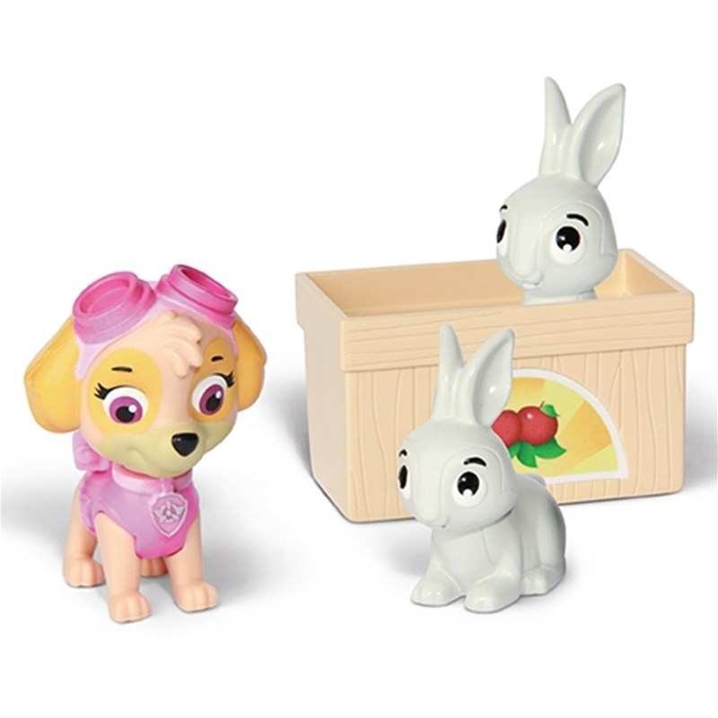 Paw Patrol Rescue Action Pack with friends Skye & Bunnies Rescue Set 3 – 8 years