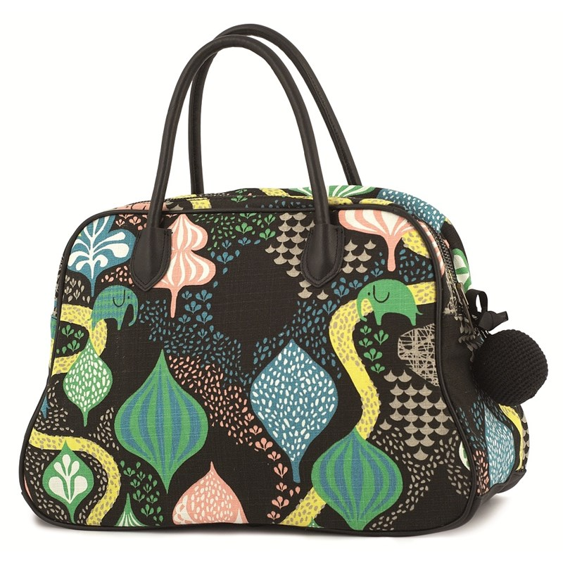 Littlephant Skötväska Day bag Saga forest Svart/multi One Size