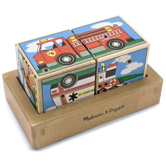 Melissa & Doug Vehicle Sound Blocks