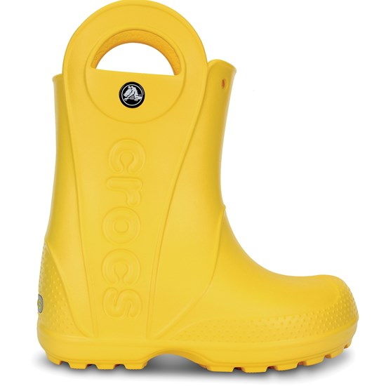 Crocs Handle It Rain Boots, Yellow