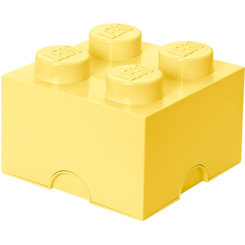 LEGO Storage LEGO Förvaring 4 Design Collection Cool Yellow One Size