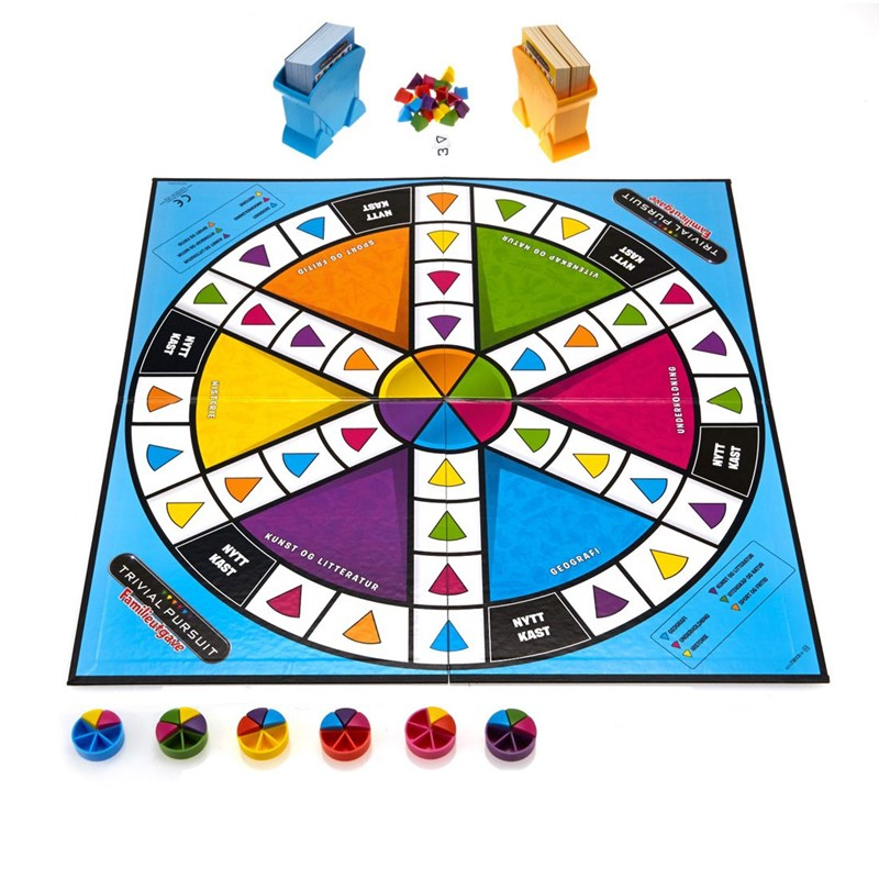 Hasbro Familjespel Trivial Pursuit Family REFRESH SE 8 – 14 years