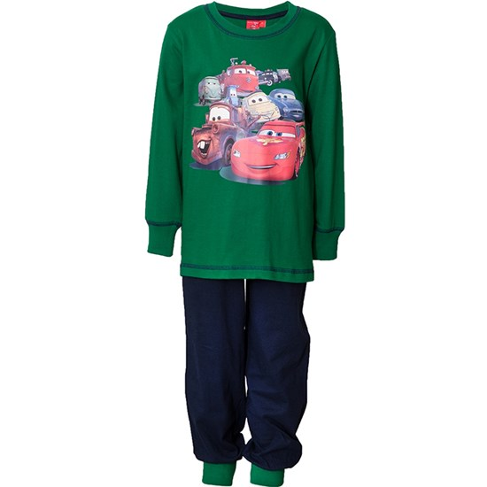 Disney Pixar Cars Pyjamas, Green/Navy