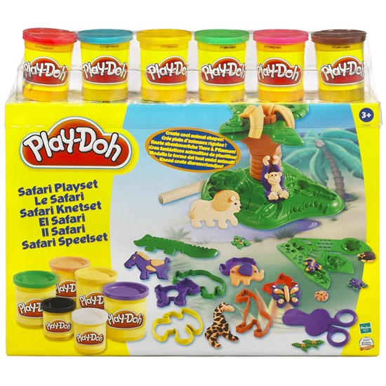 Play-Doh Leklera, Safari Super Set