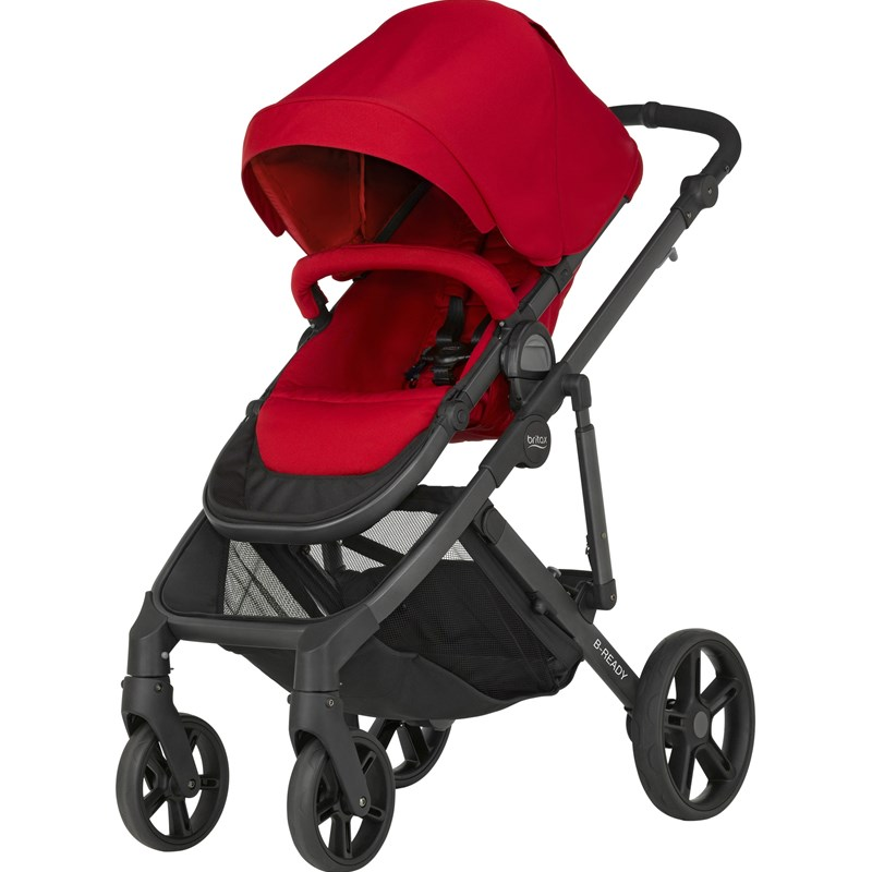 Britax Sittvagn B-Ready Flame Red One Size