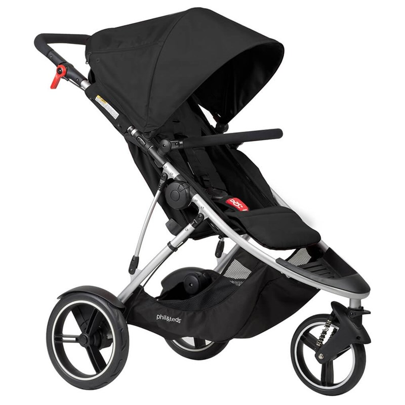 Phil and TedsSittvagn, Dash Buggy, Black