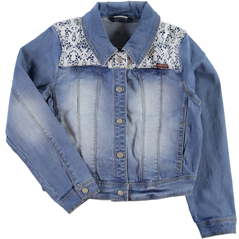 Name It Denimjakke, Staranna, Kids, Light Blue Denim 110 cm