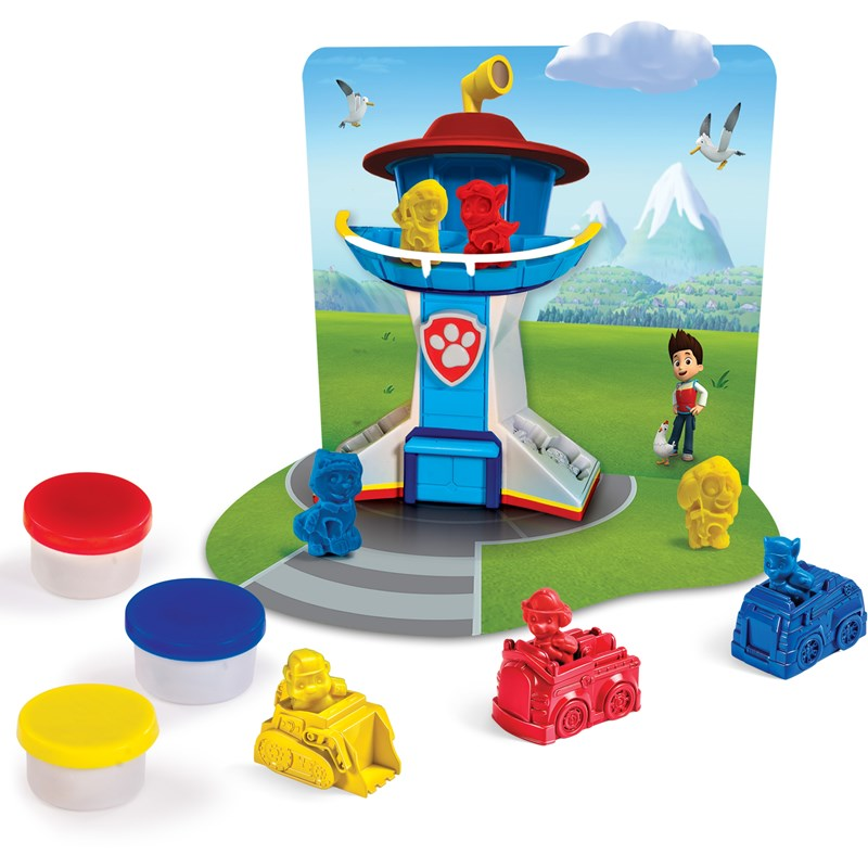 Läs mer om Paw PatrolLerset, Rescue Dough Play Set