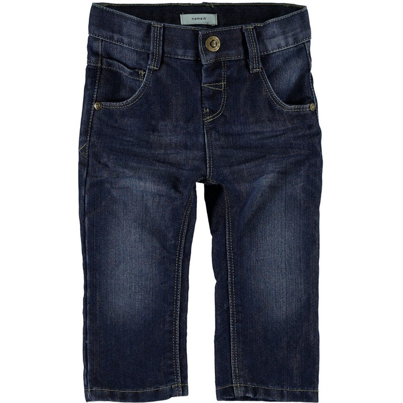 Name ItJeans, Alex, Mini, Dark Blue Denim80 cm