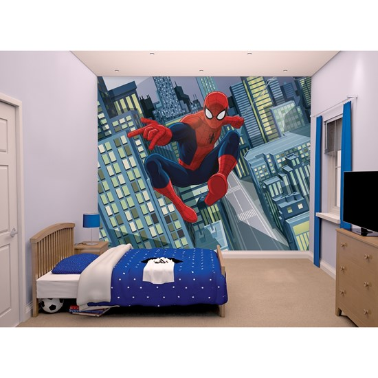 Walltastic Fondtapet, Spiderman, 244 x 305 cm