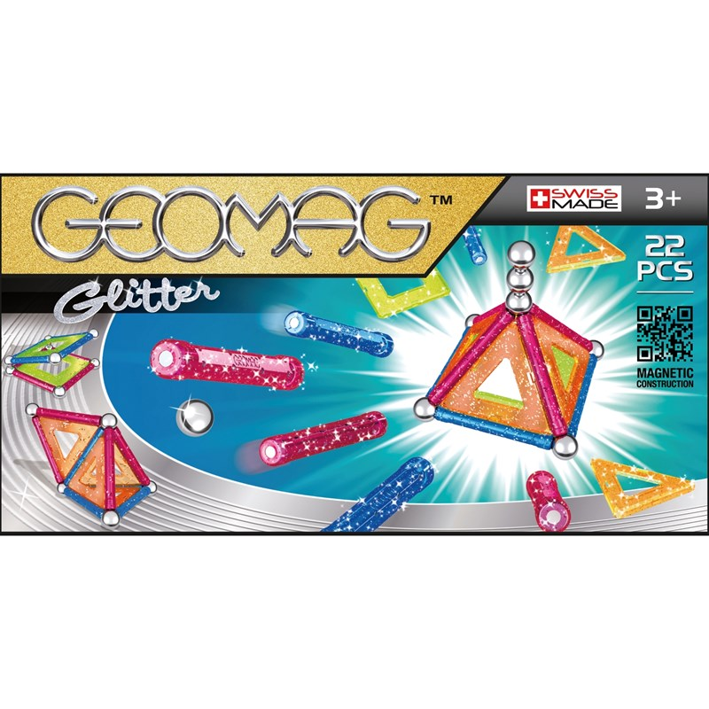 Geomag Byggsats Glitter 22 3+ years