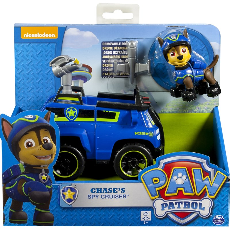 Läs mer om Paw PatrolBasic Vehicle With Pup, Spy Chase