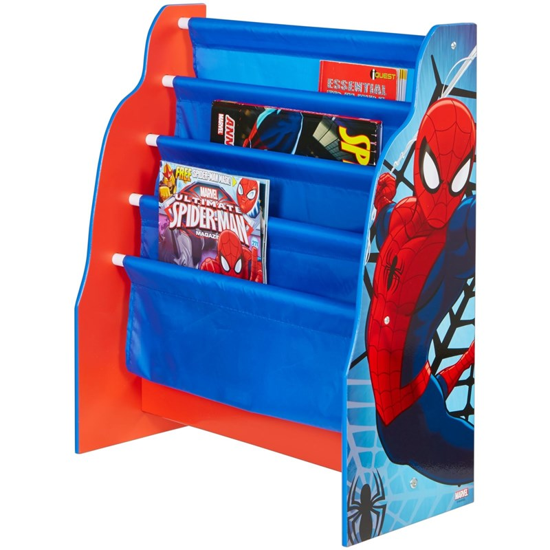 Spiderman Spiderman Bokhylla med fack One Size
