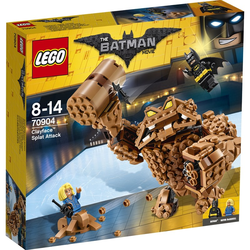 Läs mer om LEGO BatmanLEGO Batman Movie, 70904, Clayface Anfall