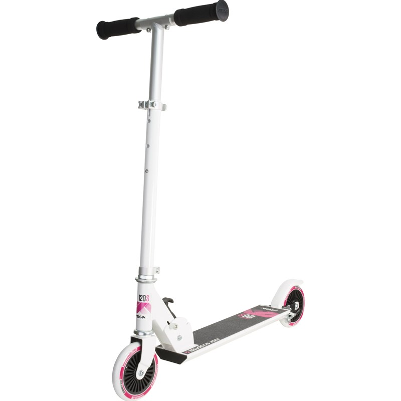 STIGA Skate Scooter Challenger 120-S White/Pink 5 – 12 years