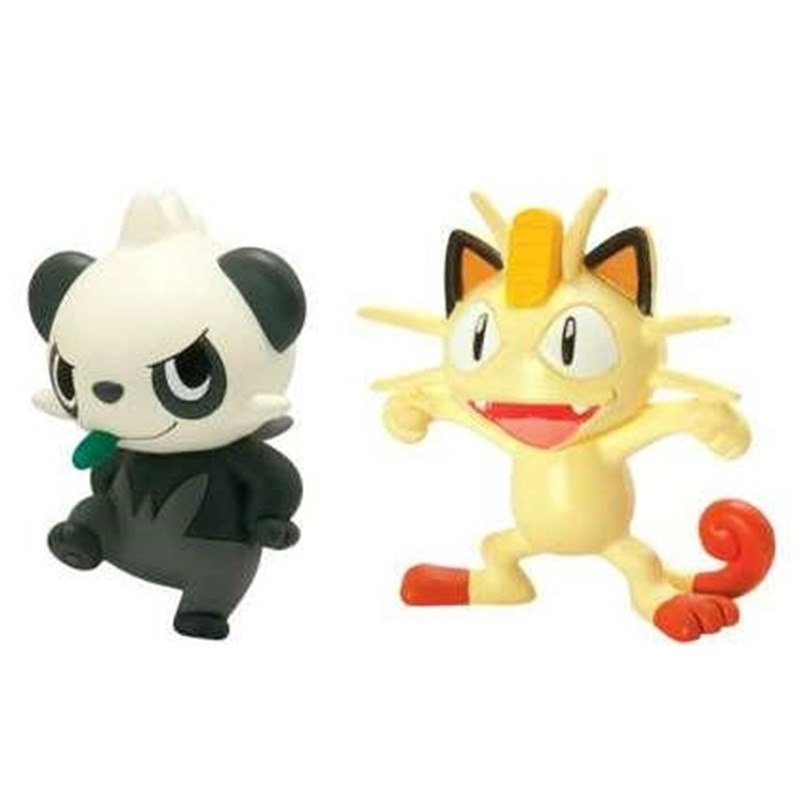 Läs mer om PokemonPokémon, Actionfigur D3, Meowth vs Pancham