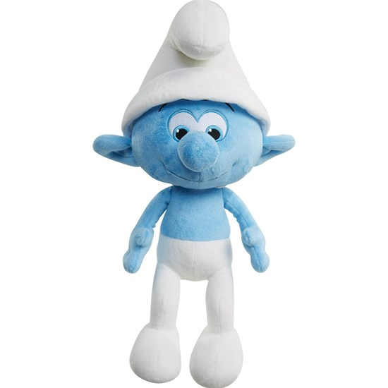 Smurfarna Smurfs, Talking Feature Plush, Clumsy, 36 cm