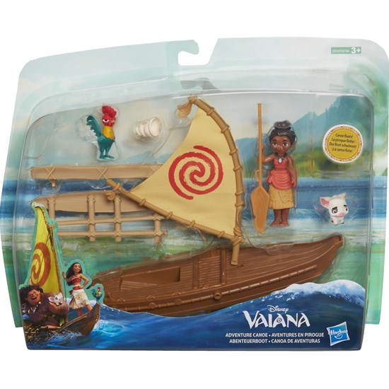 Disney Vaiana Small Doll Playset, Vaiana's Boat