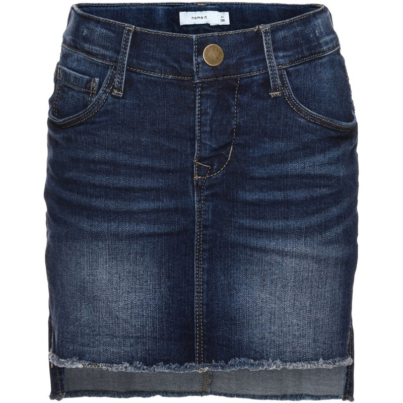 Name It Jeanskjol Abett Dark Blue Denim 110 cm