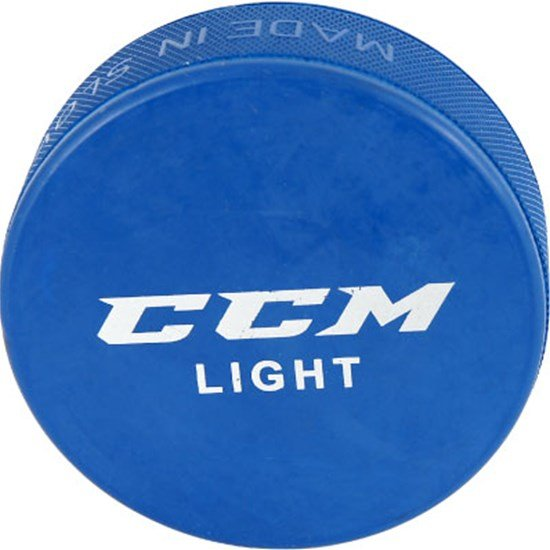 CCM Training Puck, Light Blue