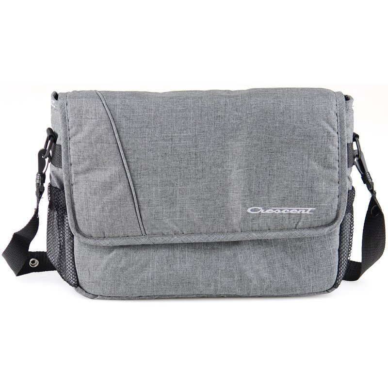 CrescentSkötväska, Crescent Bag, Grey Melange