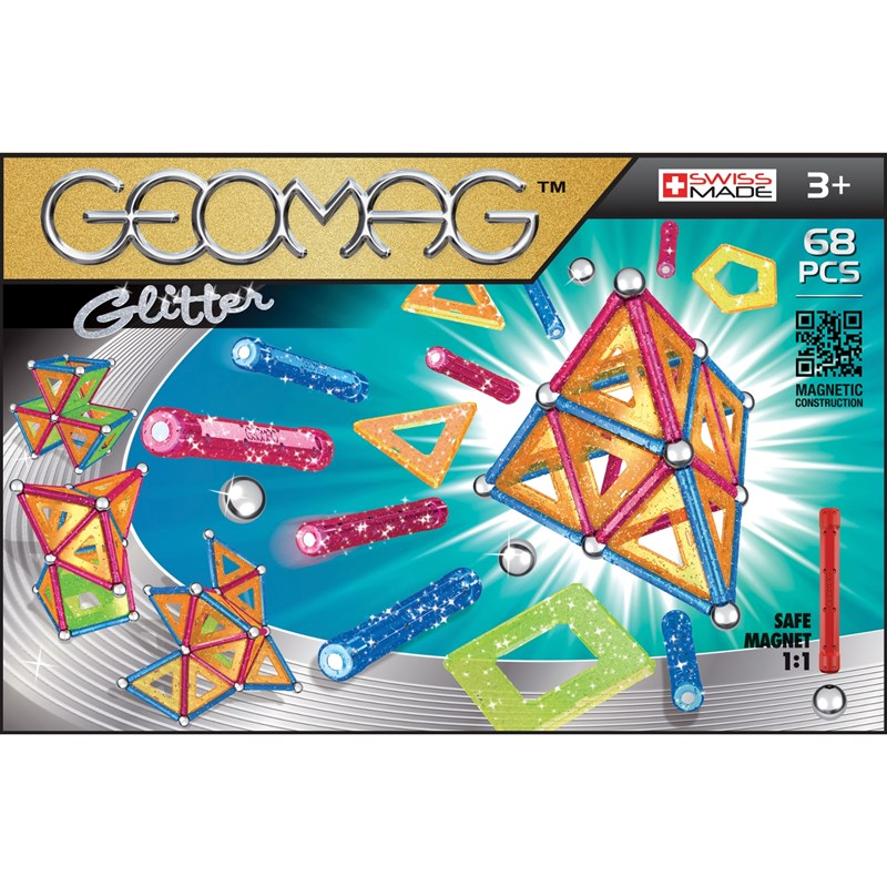 Geomag Byggsats Glitter 68 3 – 12 years