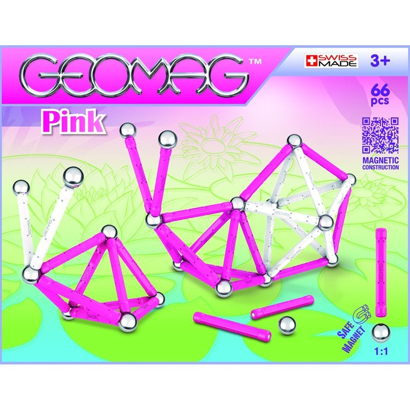 Geomag Byggsats Pink 66 3 – 12 years