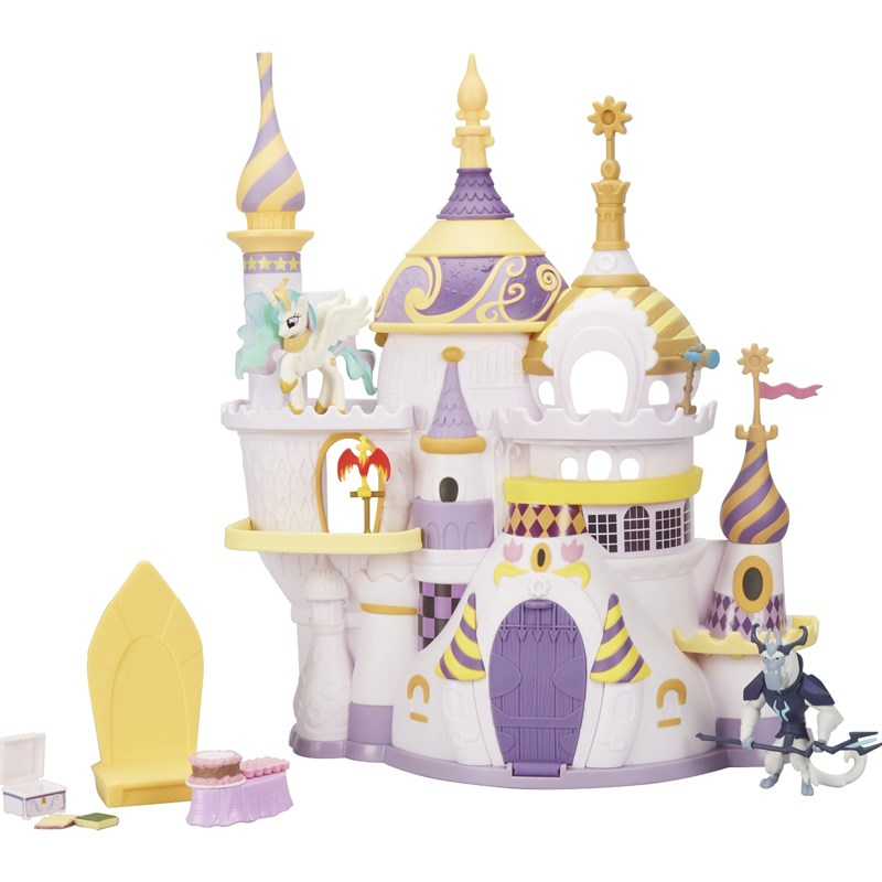 Läs mer om My Little PonyFIM, Collection Canterlot Castle Playset