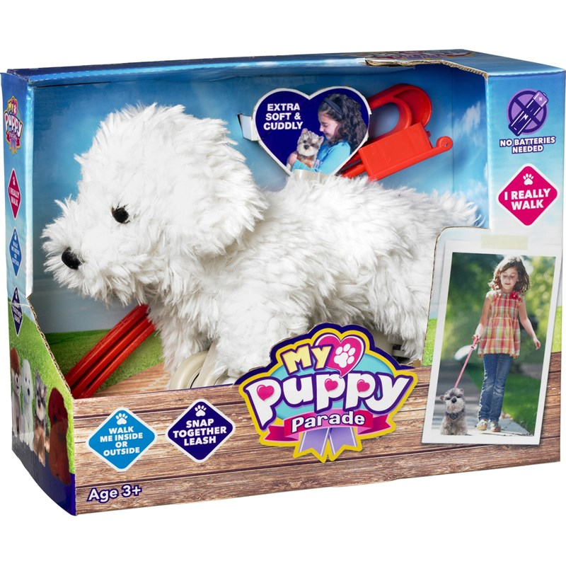 PlayMy Puppy Parade, Charlie the Bichon, Bichon med koppel