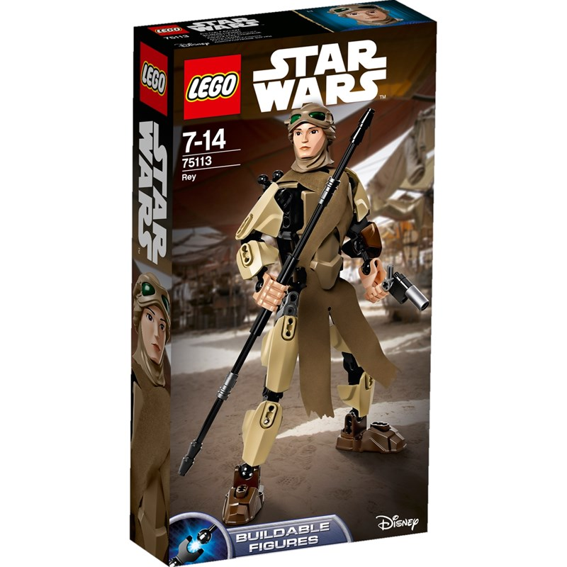Läs mer om LEGO Star WarsLEGO Constraction, 75113, Rey