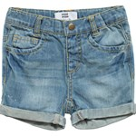 Mini Mize Jeansshorts, Baby, Storm, Medium blue denim