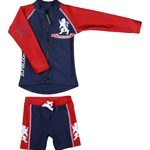 Zunblock UV-set, Lion, Navy/Red
