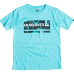 Quiksilver T-shirt, Chek my spray, Bluefish