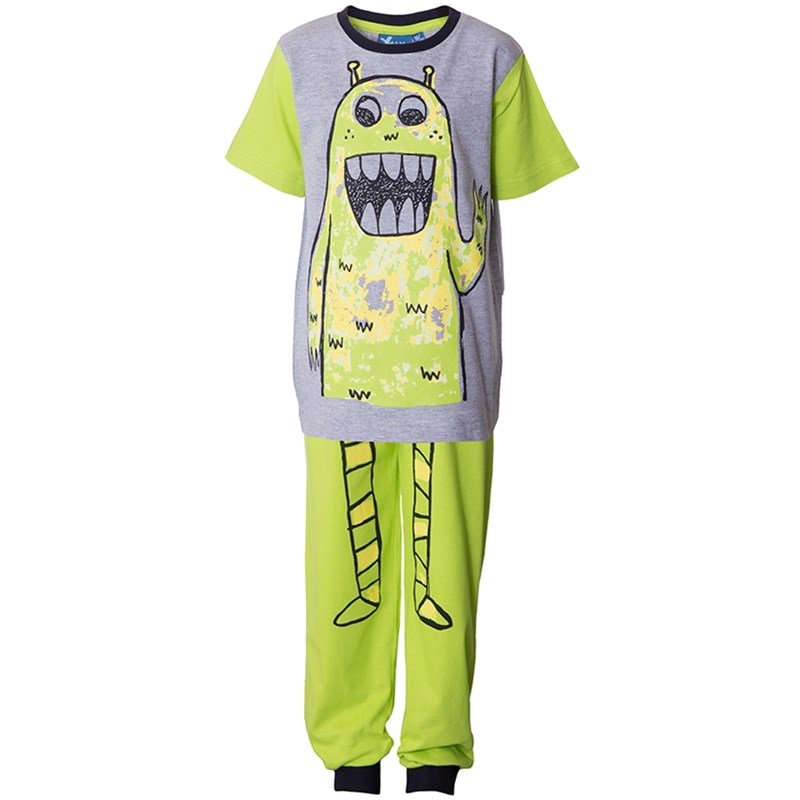 Läs mer om Max CollectionPyjamas, Lime/Black92 cm