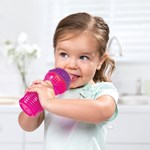 Munchkin Mugg, Bite Proof Sippy Cup, 12 mån, Rosa