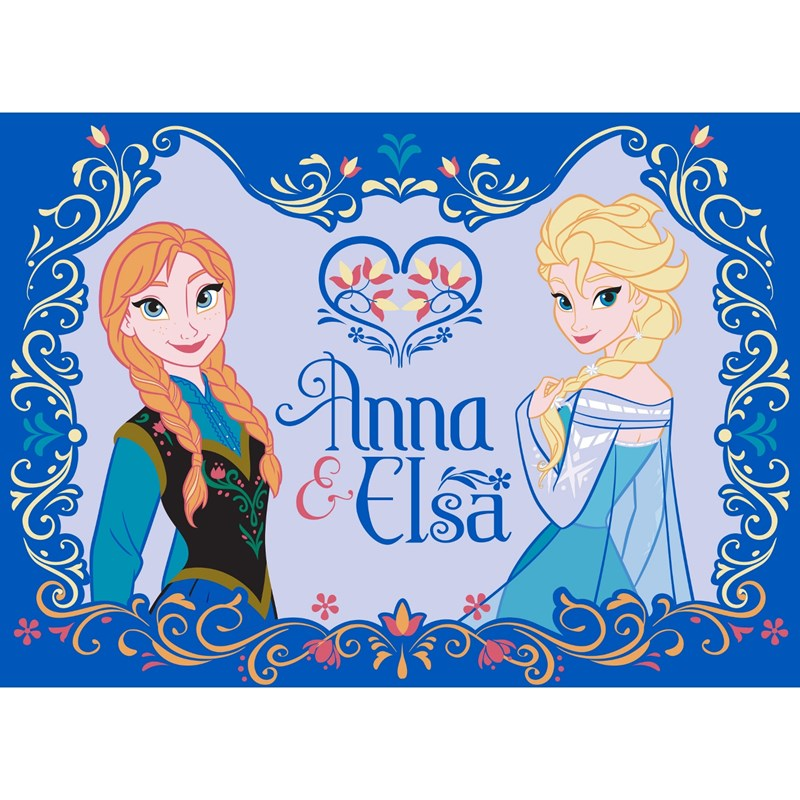 Läs mer om Associated WeaverDisney Frozen, Matta, Anna & Elsa
