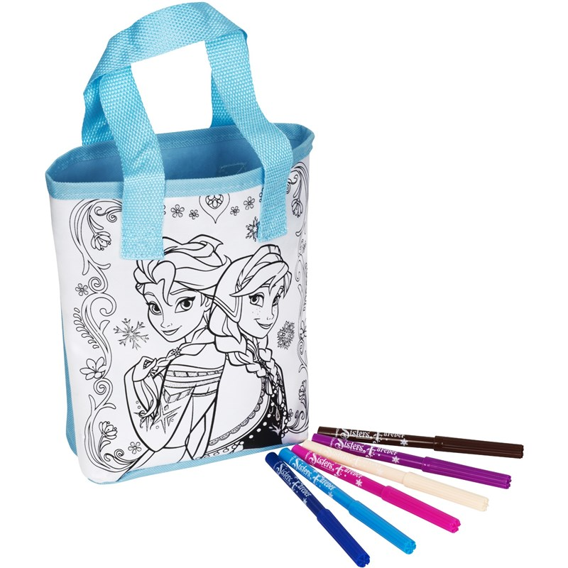 Läs mer om Disney FrozenColour Your Own Totebag