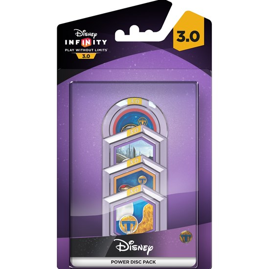 Disney Infinity Disney Infinity 3.0, Tomorrowland, A World Beyond, Power Disc, 4-pack