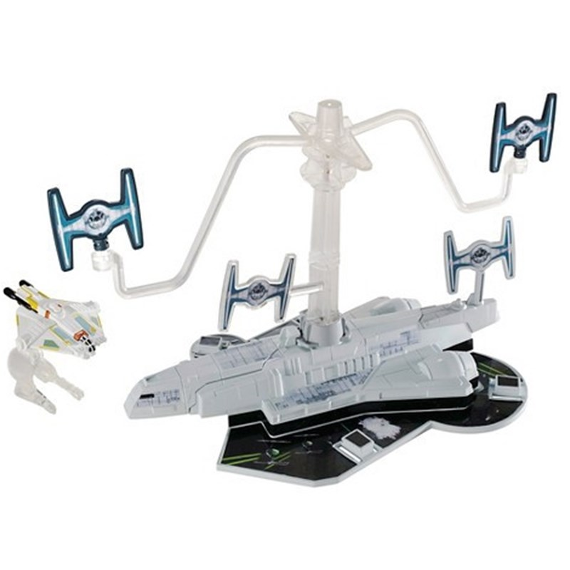 Hot WheelsStar Wars, Starship Playset, Svart