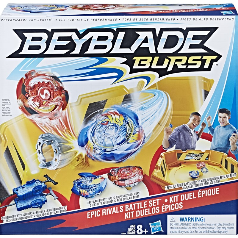 Läs mer om BeybladeEpic Rivals Battle Set